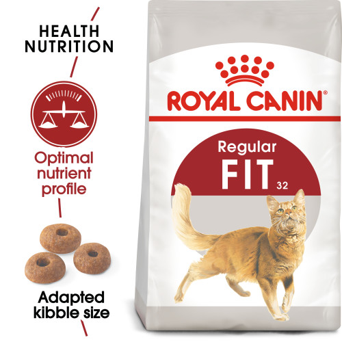 Royal Canin Regular Fit 32 Dry Adult Cat Food 10kg x 2