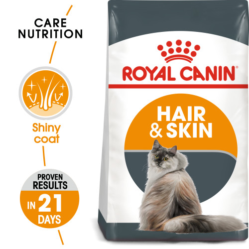 Royal Canin Hair And Skin Care Dry Adult Cat Food 400g