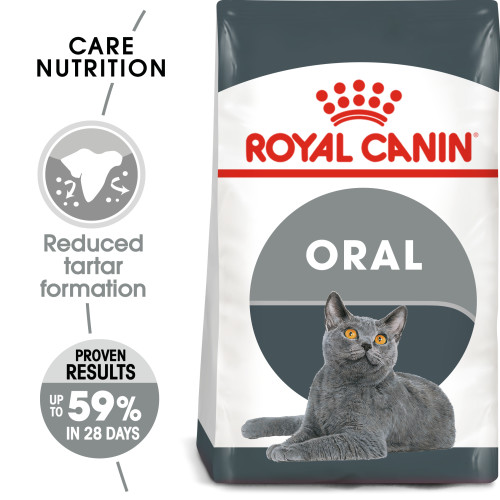 Royal Canin Oral Care Dry Adult Cat Food 3.5kg x 2