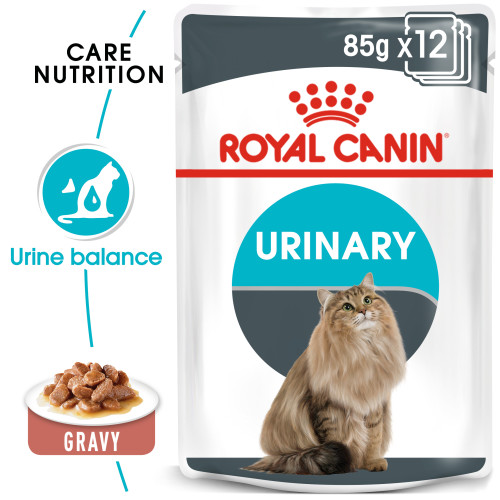 Royal Canin Urinary Care in Gravy Adult Wet Cat Food Pouches