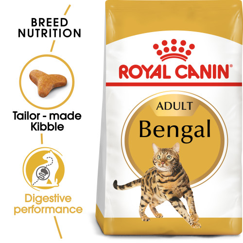 Royal Canin Bengal Dry Adult Cat Food 10kg x 2