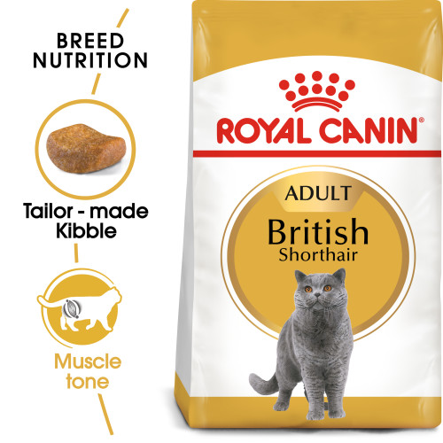 Royal Canin British Shorthair Adult Dry Cat Food 400g