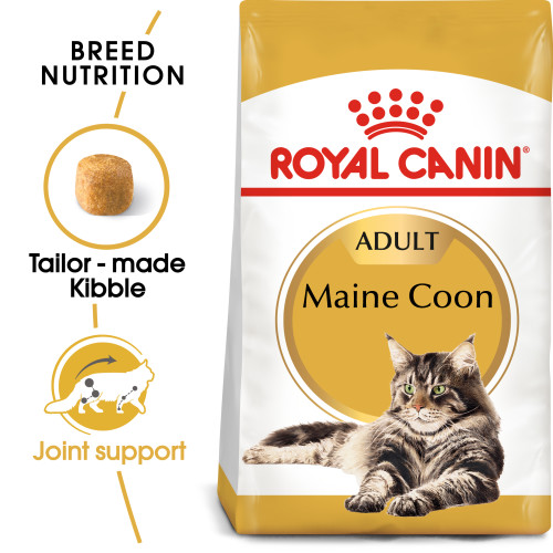 Royal Canin Maine Coon Dry Adult Cat Food 4kg x 2