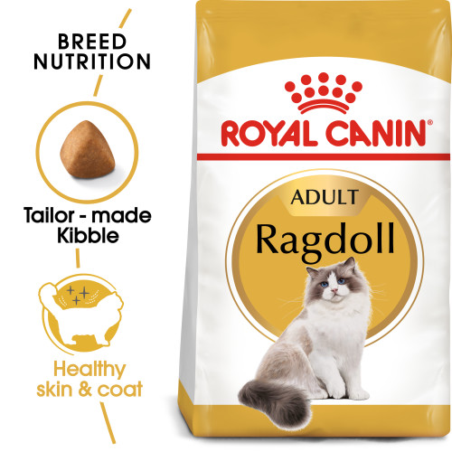 Royal Canin Ragdoll Dry Adult Cat Food 400g