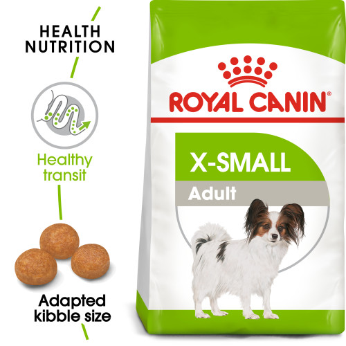 Royal Canin X-Small Adult Dry Dog Food 1.5kg x 4