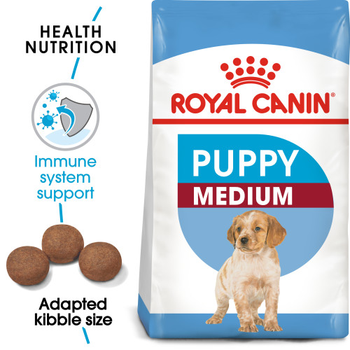 Royal Canin Medium Puppy Dry Dog Food 15kg x 2