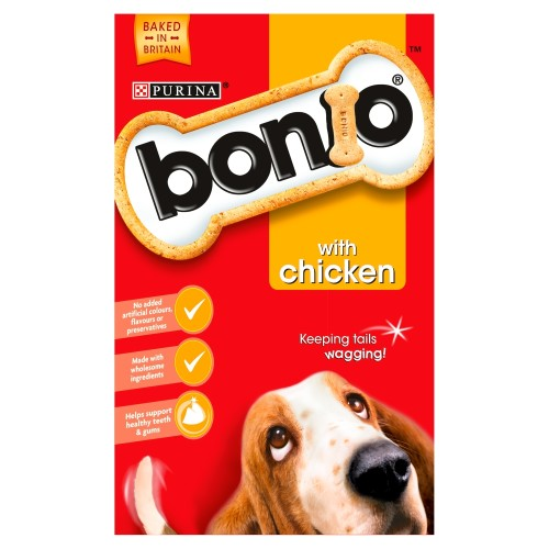 Bonio Chicken Dog Biscuits 650g