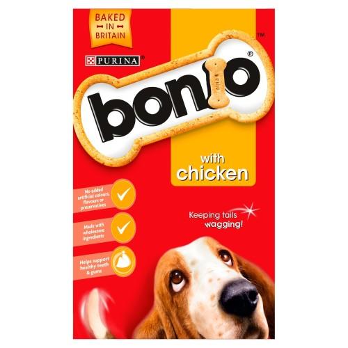 Bonio Chicken Dog Biscuits