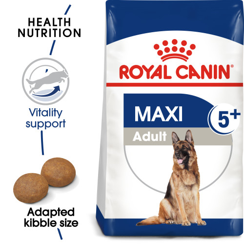 Royal Canin Maxi Adult 5+ Dry Dog Food 15kg