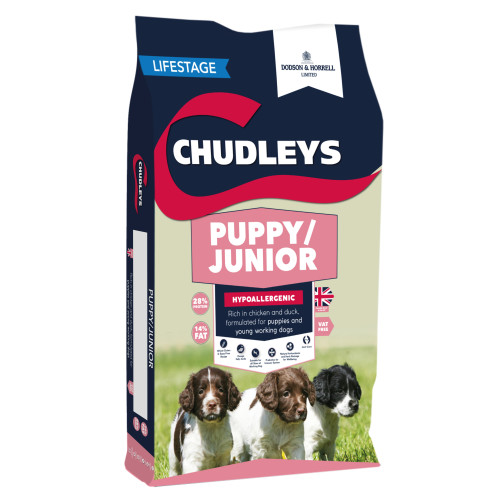 Chudleys Puppy & Junior Dog Food 12kg
