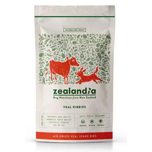 Zealandia Veal Ribbies Dog Treats 150g