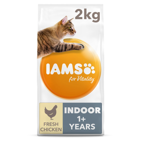 IAMS for Vitality Indoor Chicken Dry Cat Food