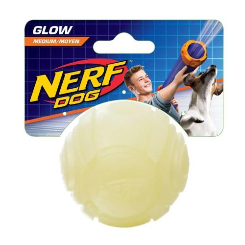 Nerf LED Glow Sonic Ball Dog Toy