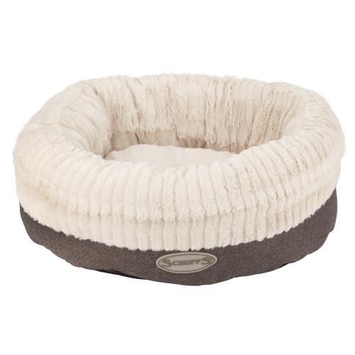 Scruffs Ellen Donut Dog Bed in Grey Ellen Donut Bed