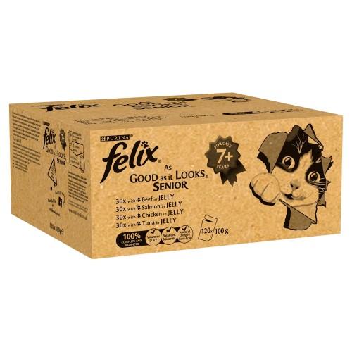Felix As Good As It Looks Mixed Selection Senior Cat Food