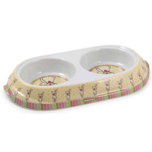 Ancol Lulu Twin Cat Bowl