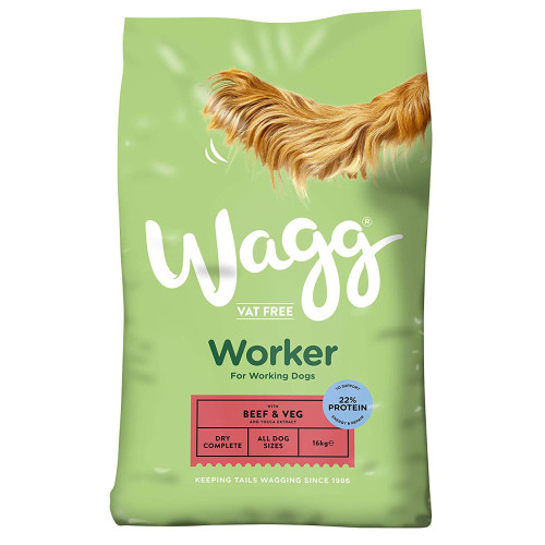 Wagg Complete Worker Beef Dog Food