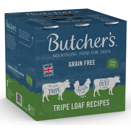 Butchers Tripe Loaf Recipes Cans Wet Dog Food