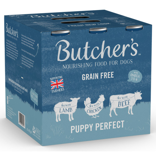 Butchers Puppy Perfect Cans in Jelly Wet Puppy Food