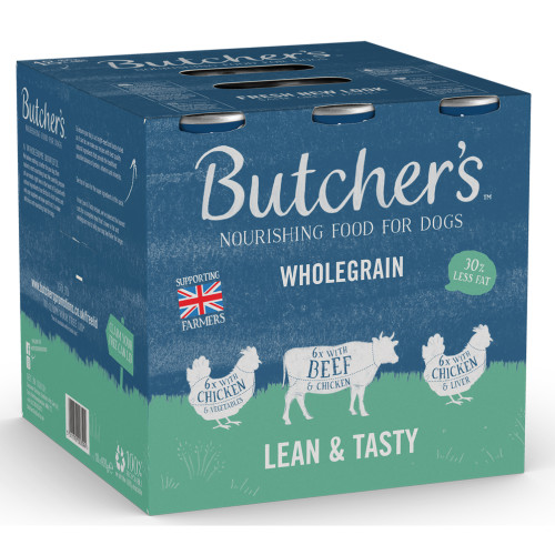 Butchers Lean & Tasty Cans in Jelly Wet Dog Food
