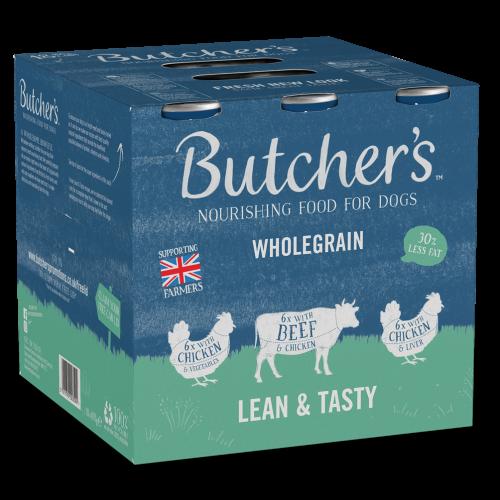 Butchers Lean & Tasty Low Fat Dog Food Tins 400g x 18