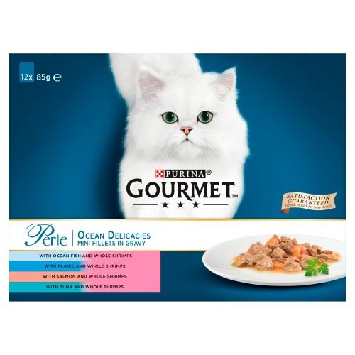 Gourmet Perle Ocean Delicacies Cat Food