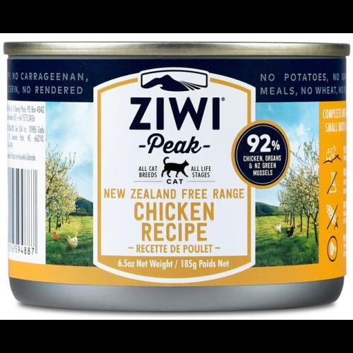ZiwiPeak Daily Cat Cuisine Chicken Cat Food 185g x 12