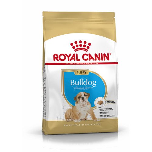 Royal Canin Bulldog Puppy Dry Dog Food 12kg x 2