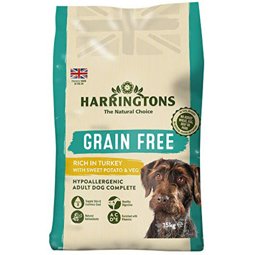 Harringtons Grain Free Turkey with Sweet Potato & Vegetables Adult Dog Food 2kg