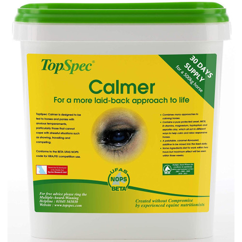 TopSpec Calmer Horse Calming Supplement 3kg