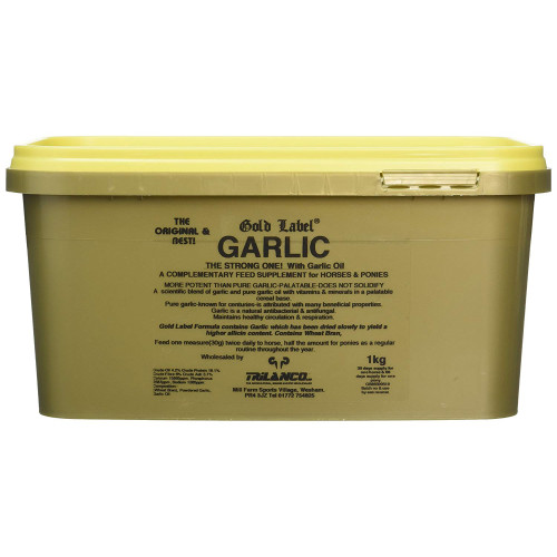 Gold Label Garlic Powder Horse Supplement 500g