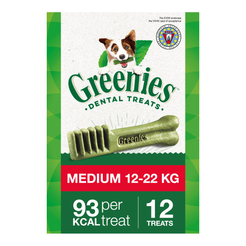 Greenies Regular Dental Dog Treats 340g