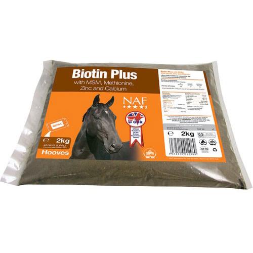 NAF Biotin Plus Horse Hoof Supplement 2kg Refill