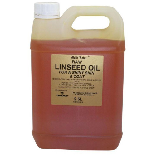 Gold Label Linseed Oil Horse Supplement 2.5 Litres