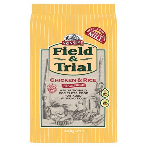 Skinners Field & Trial Chicken & Rice Adult Dog Food 2.5kg