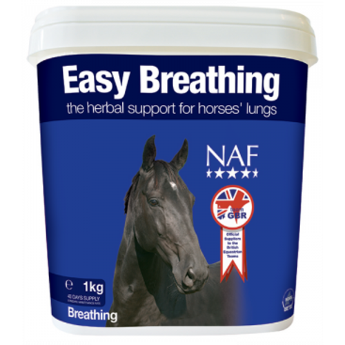 NAF Easy Breathing Powder Horse Supplement 1kg