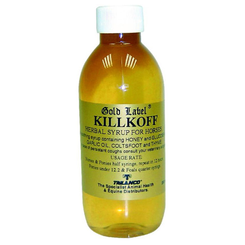 Gold Label KillKoff Herbal Syrup for Horses 250ml