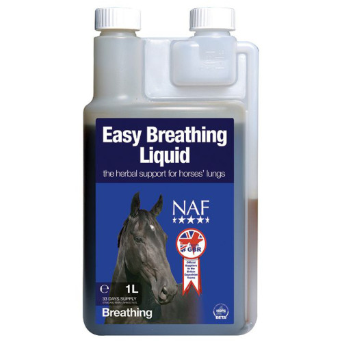 NAF Easy Breathing Liquid Horse Supplement 1 Litre