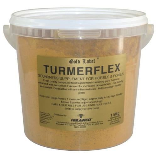 Gold Label Turmerflex Horse Supplement 1.5kg