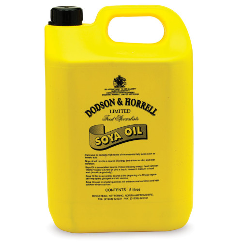 Dodson & Horrell Soya Oil Horse Supplement 5 Litres