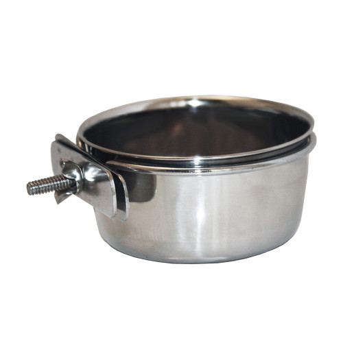 Happy Pet Bolt-on Steel Dog Bowl 900ml