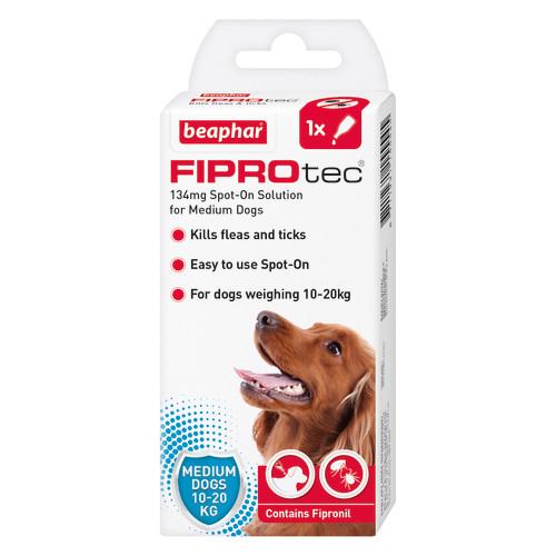 Beaphar FIPROtec Spot On for Dogs Medium Dog 1 Pipette