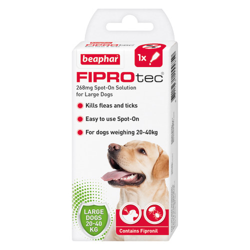 Beaphar FIPROtec Spot On for Dogs Large Dog 1 Pipette
