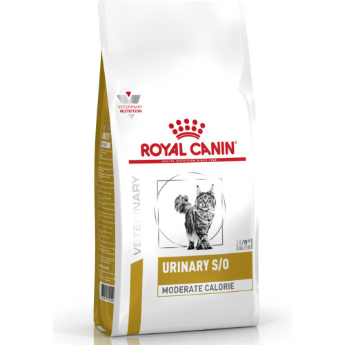 Royal Canin Veterinary Urinary SO Moderate Calorie Cat Food 7kg