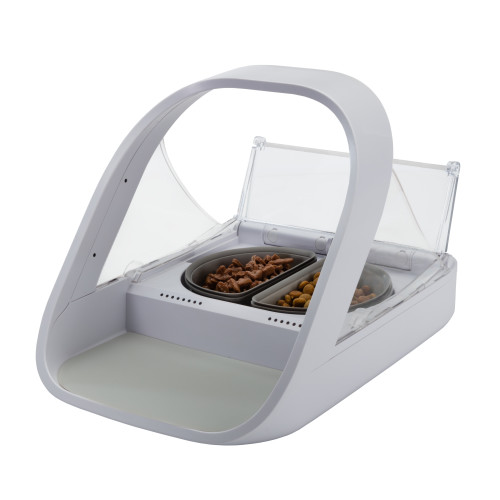 SureFeed Microchip Pet Feeder Connect with Bowls Mat & RFID Tag Microchip Feeder Connect