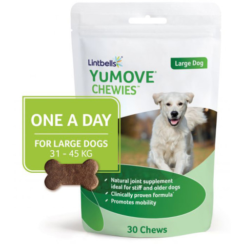 Yumove Chewies One a Day Dog Joint Supplement Large Dogs - 30 Chews