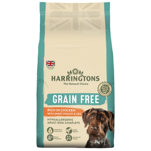 Harringtons Grain Free Chicken & Sweet Potato Adult Dog Food 2kg