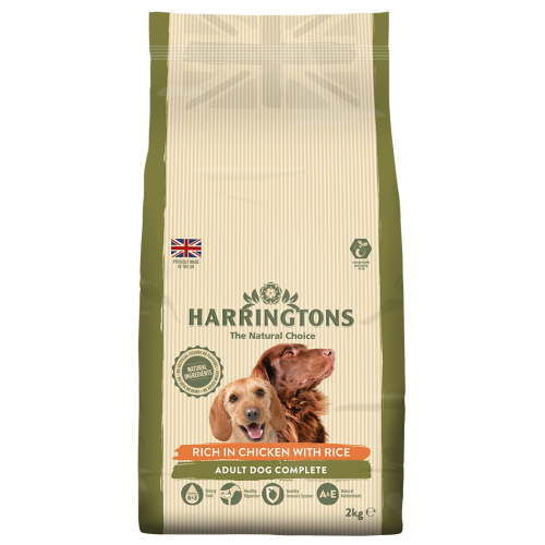 Harringtons Chicken with Rice Adult Dog Food 2kg