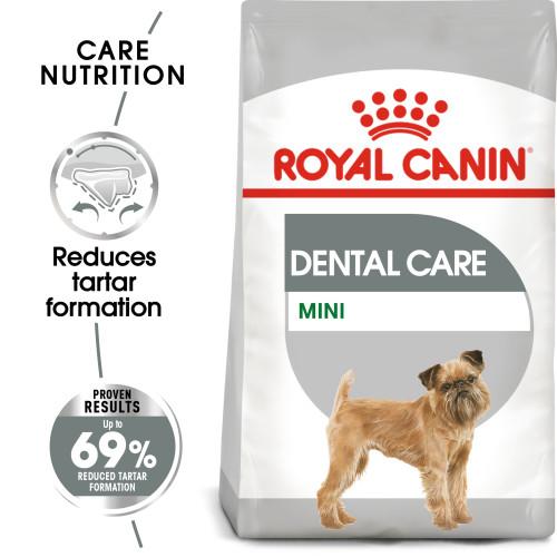 ROYAL CANIN Mini Dental Care Adult Dry Dog Food 3kg