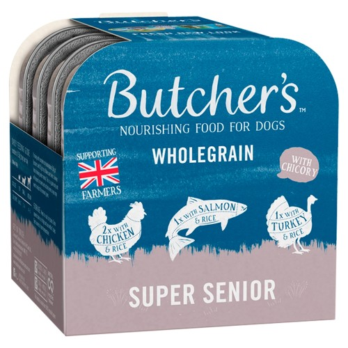 Butchers Super Senior Dog Food Trays 150g x 72